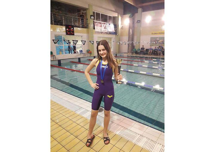 ️ Zawodniczka UKS TRÓJKA Puławy Zuzanna Gawełko wystartowała w Otwartych Mistrzostwach Konstancina w pływaniu.…