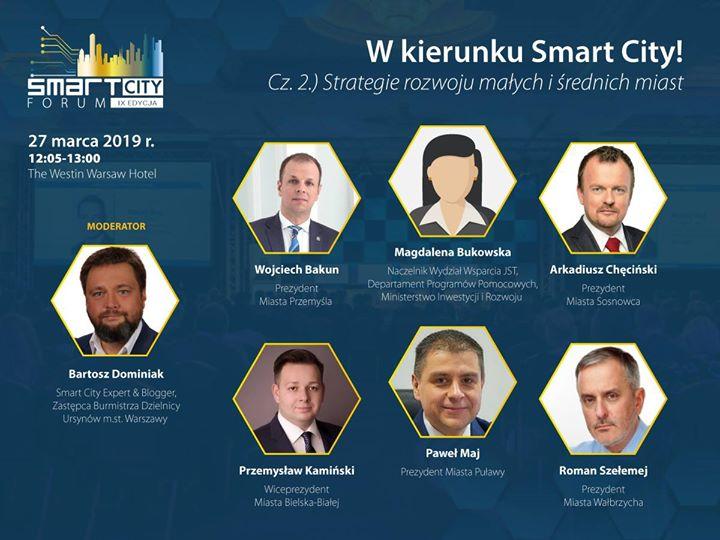 Jutro w Warszawie rozpoczyna się Smart City Forum – największy w Polsce kongres poświęconym…
