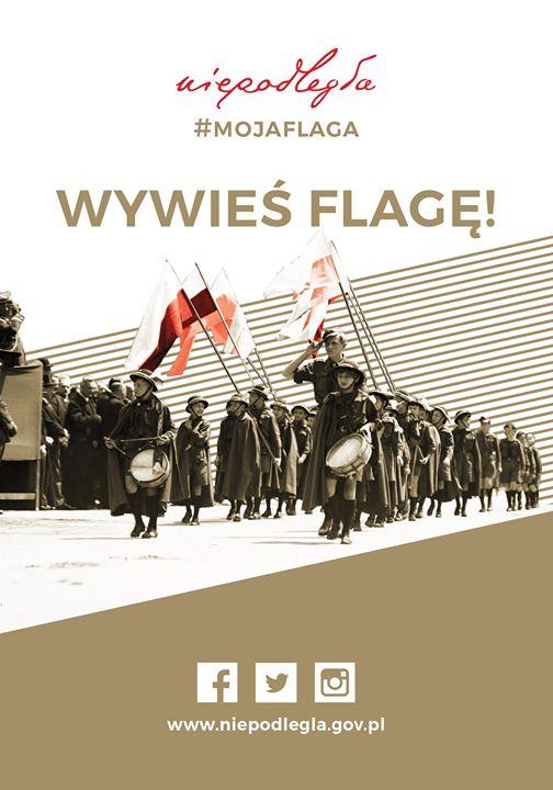 2 maja 2019 obchodzimy 15-lecie uchwalenia Dnia Flagi Rzeczypospolitej Polskiej 🇵🇱Wywieś flagę!🇵🇱 #MOJAFLAGA