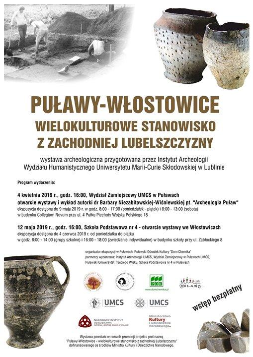 """⏳Dzisiaj o 16:00 w Szkole Podstawowej nr 4 zostanie otwarta wystawa """"Puławy – Włostowice,…"""