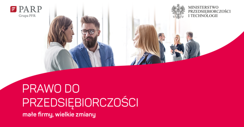 Ministerstwo Przedsiębiorczości i Technologii oraz Polska Agencja Rozwoju Przedsiębiorczości zapraszają przedsiębiorców na spotkania, podczas…