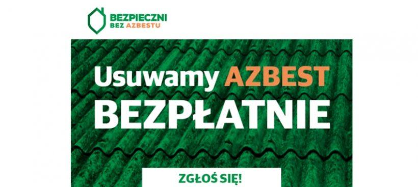 ️Trwa III nabór Zgłoszeń lokalizacji na usuwanie wyrobów zawierających azbest od osób fizycznych w…