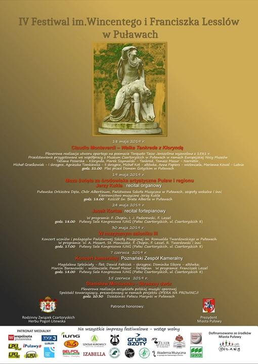 Od 18 maja do 15 czerwca w Puławach odbędzie się czwarta edycja Festiwalu im.…
