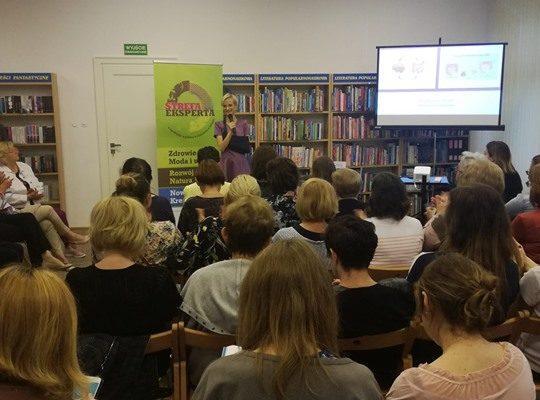 Dzisiaj gościem w Strefie Eksperta Biblioteki Miejskiej w Puławach jest Hanna Stolińska-Fiedorowicz – dietetyk…