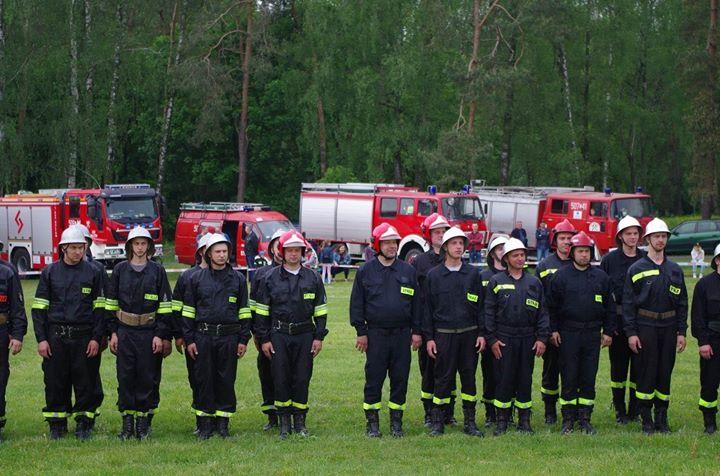 Gminne Zawody Sportowo-Pożarnicze Gminy Żyrzyn 19 maja 2019 roku na boisku przy remizie OSP…
