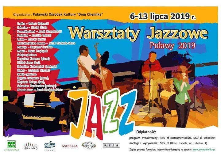 W tym roku warsztaty jazzowe odbędą się od 6 do 13 lipca
