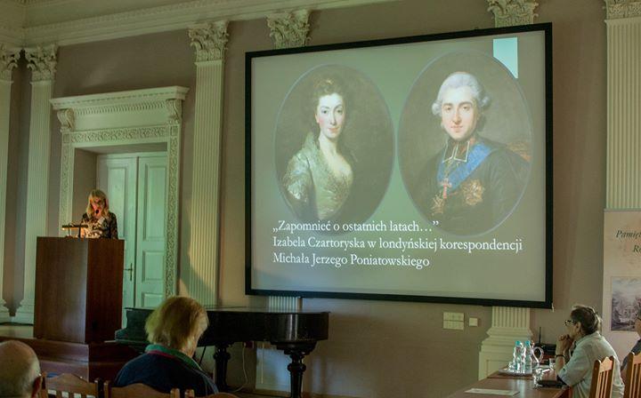 ️ Dzisiaj rozpoczął się drugi dzień konferencji naukowej: Izabela Czartoryska – dux femina facti