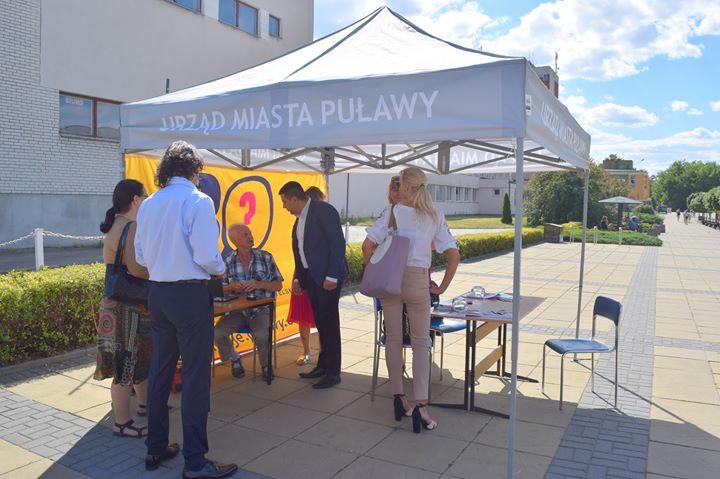 Środy z Budżetem Obywatelskim ℹ️ Rozpoczynamy konsultacyjny lipiec w Puławach. W każdą środę od…