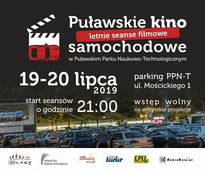 19 i 20 lipca w Puławskim Parku Naukowo-Technologicznym odbędzie się kolejna edycja Puławskiego Kina…