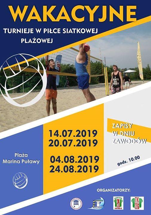 Mosir Puławy, TKKF Chemik oraz PTKKF zapraszają do wzięcia udziału w Wakacyjnych Turniejach w…