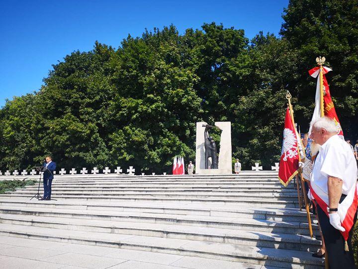 Dziś przypada 80. rocznica wybuchu II Wojny Światowej, Prezydent Miasta Puławy Paweł Maj podczas…