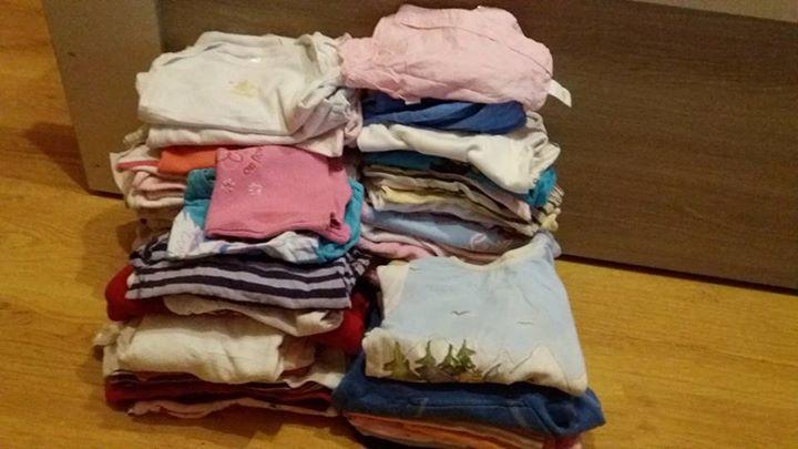 Ubranka dla dziewczynki 0-4 latka 1zł – Ryki Za paczke pampersow oddam ubranka dla…