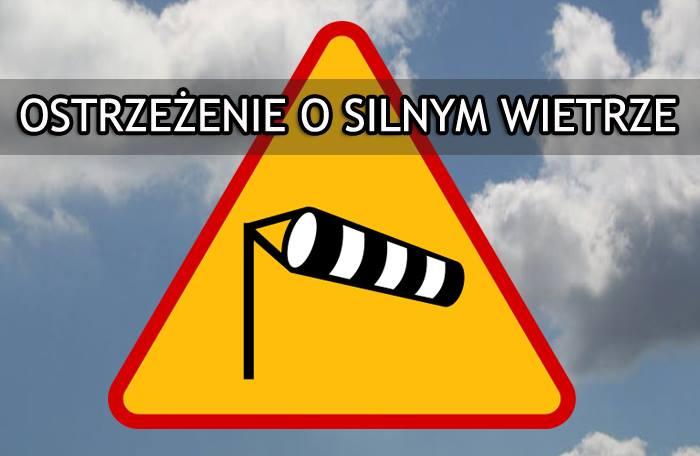 Ostrzeżenie meteorologiczne SILNY WIATR 2 STOPIEŃ Obszar: województwo lubelskie Ważność: od 2017-10-05 21:00:00 do…