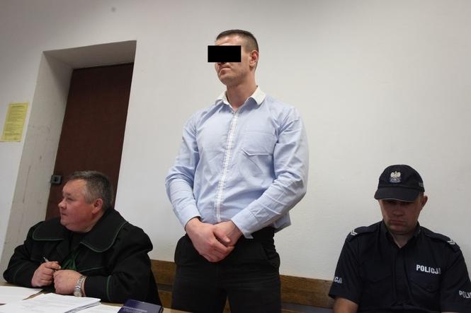 Wideo z sądu. ,n