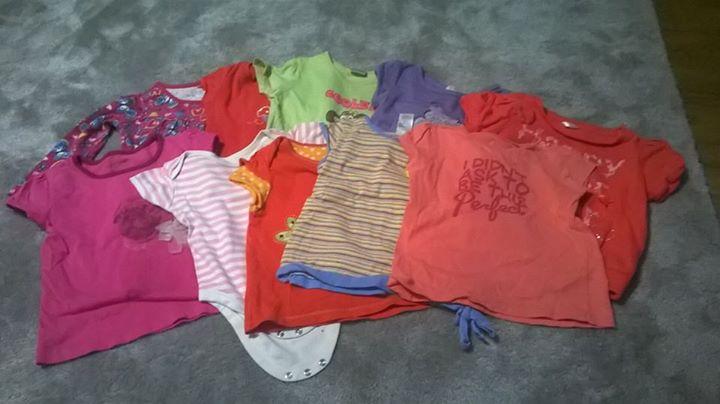 Oddam bluzeczki FREE – Puławy Oddam potrzebującej mamie bluzeczki dla dziewczynki rozmiar 86/92. 11…
