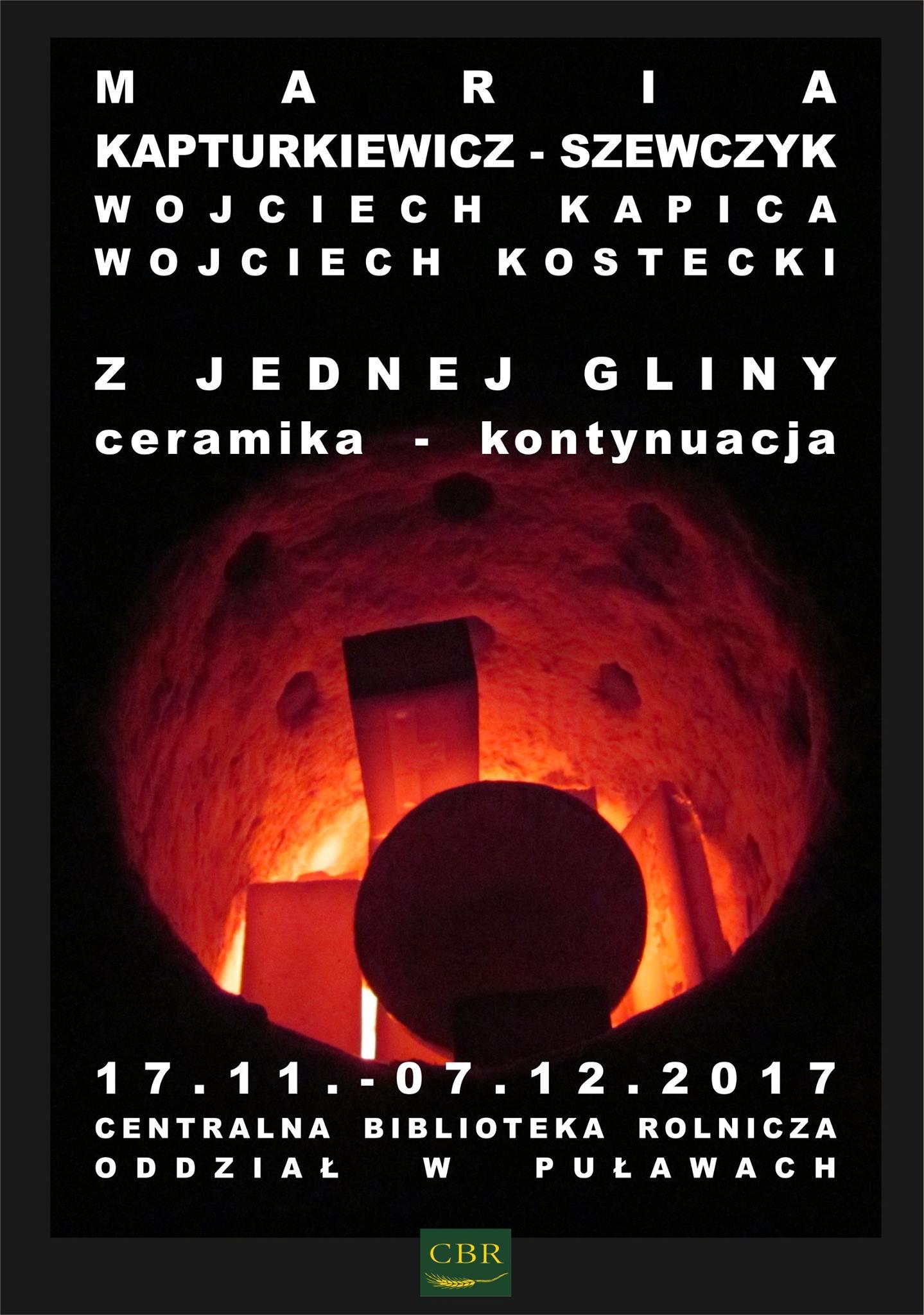 Centralna Biblioteka Rolnicza Oddział w Puławach zaprasza 17 listopada o godzinie 17:00 na wernisaż…