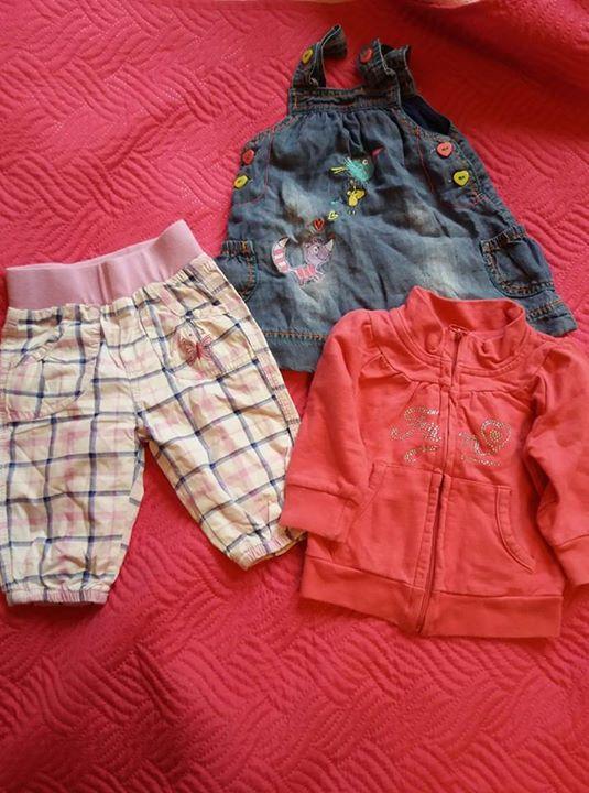 Ubranka dla dziewczynki 62 10zł – Puławy Sprzedam ubranka dla dziewczynki 62. Spodenki 10…