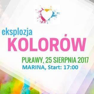 Zapraszamy na Eksplozję Kolorów w Puławach! 25 sierpnia zapewnimy Wam wszystkim mnóstwo kolorowej rozrywki…