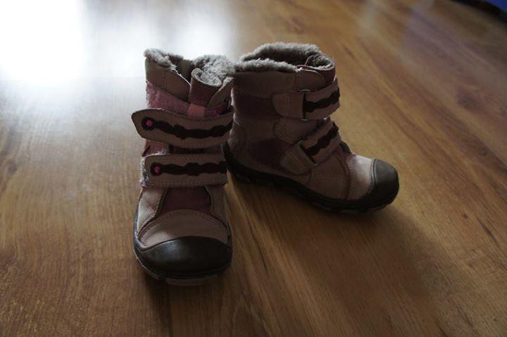 kozaki zimowe dla dziewczynki r 23 45zł – Puławy #butyzimowe, #buty #kozaki #dziecięce Sprzedam…