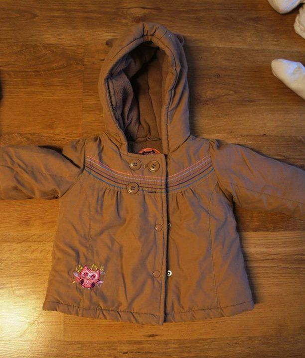 kurtka zimowa 5zł – Puławy sprzedam kurtkę zimową dla dziewczynki r 68 Na kapturze…