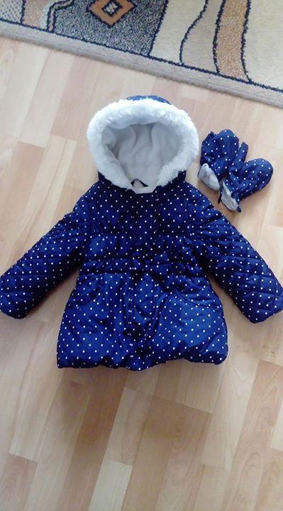 Kurteczka zimowa dla dziewczynki latka 20zł – Puławy Sprzedam śliczna zimową kurteczke dla dziewczynki…