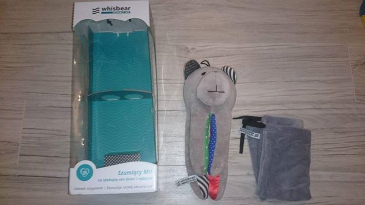 Szumiś Whisbear bez cry sensor pudełko 60zł – Puławy Sprzedam misia szumisia Whisbear bez…