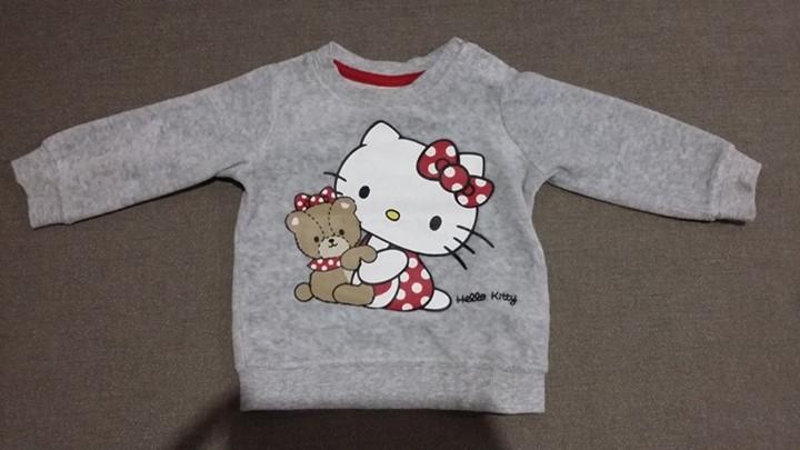 Bluza welurowa H&M r. 68 12zł – Puławy #Sprzedam Milutka bluza Założona 2 razy