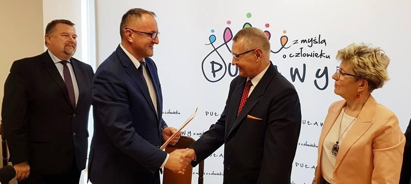 Przebudowa Domu Chemika uzyskała dofinansowanie z RPO Województwa Lubelskiego. Puławy są pierwszym miastem w…