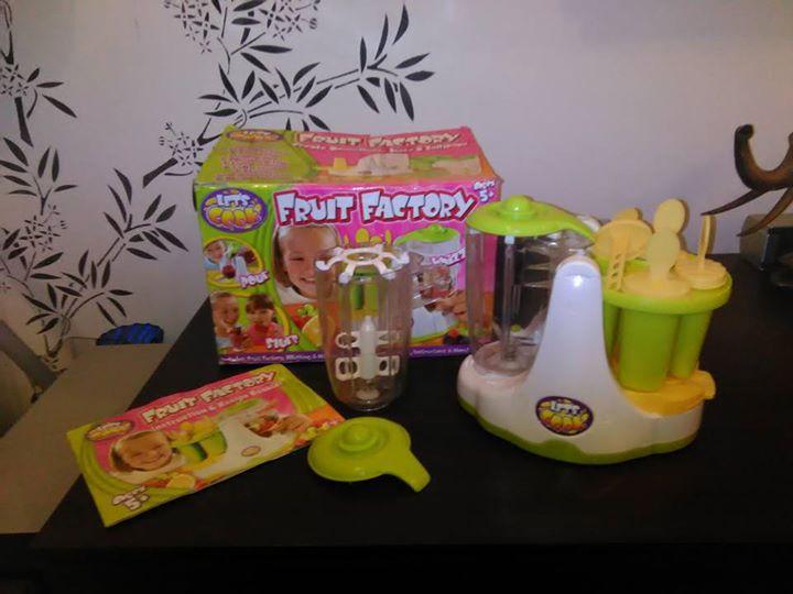 Urządzenie dla dzieci do robienia lodów i jogurtu 30zł – Puławy Urządzenie firmy LETS…