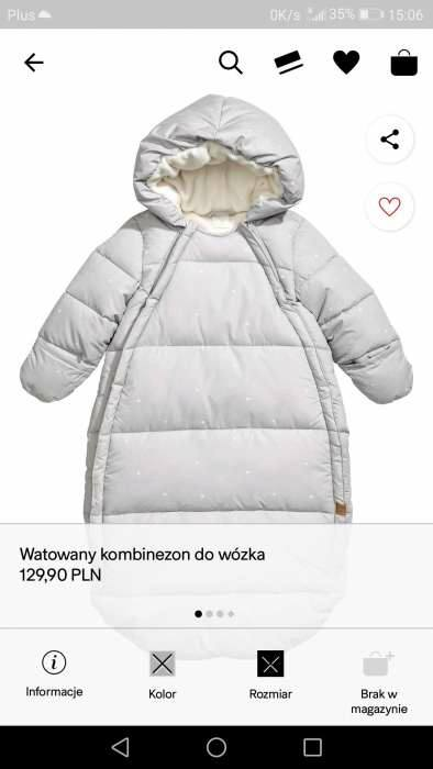 #Kombinezon zimowy NOWY H&M +czapka 90zł – Gołab, Lublin, Poland Sprzedam NOWY kombinezon/śpiworek zimowy…