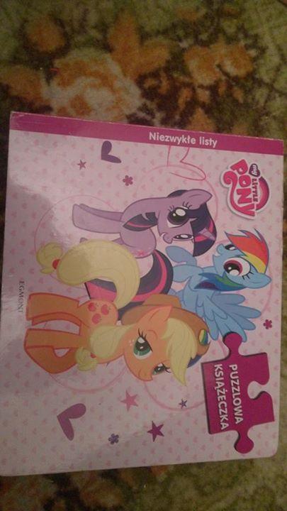Książeczka puzzle koniki Pony 20zł – Puławy Sprzedam książeczkę puzzle koniki pony. Tylko odbior…