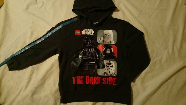 Bluza dla chłopca Lego Star Wars 116-122 (6-7 lat) 8zł – Puławy Bluza z…