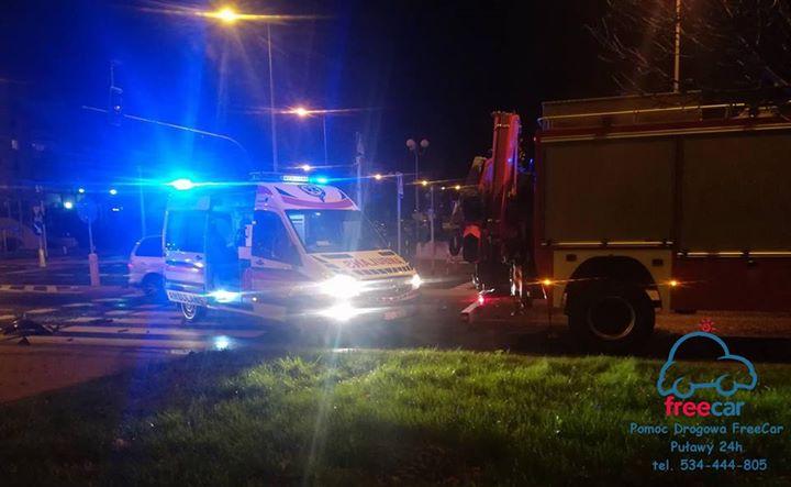 Około godz. 22:50 na skrzyżowaniu ul. Lubelskiej z Norwida do domu producenci zderzenia dwóch pojazdów. …