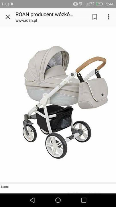 Wózek Roan Bass soft 1,200zł – Puławy Witam. Mam na sprzedaż wózek marki Roan…