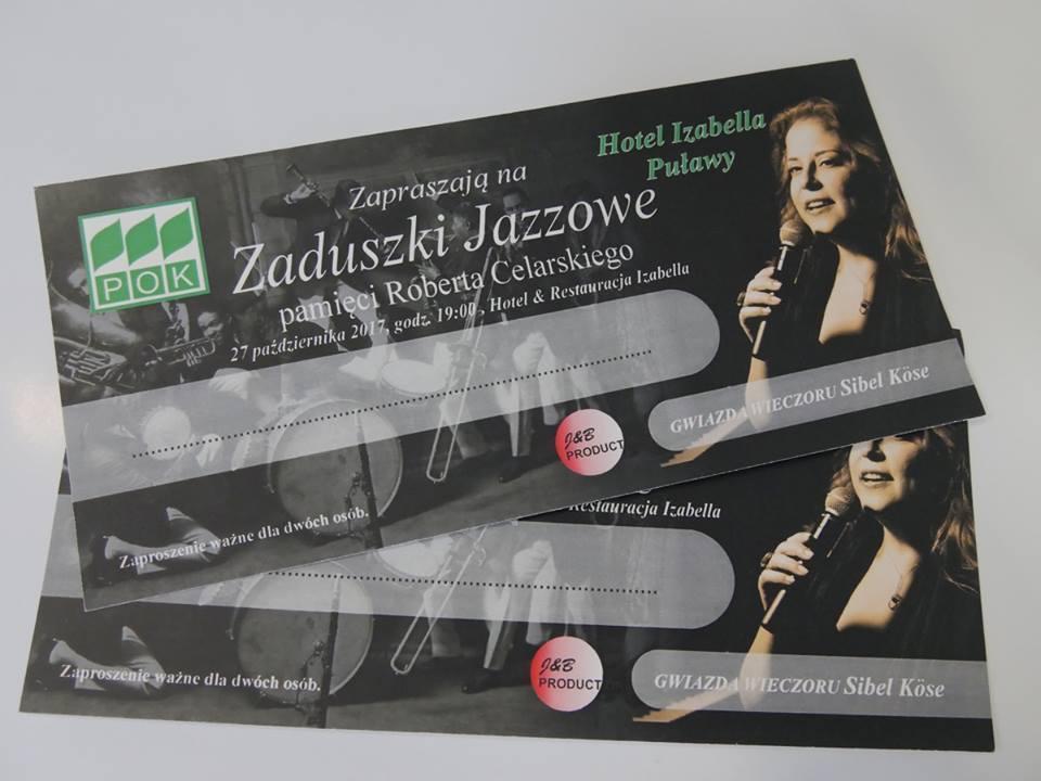 """27 października w Hotelu Izabella odbędą się """"Zaduszki jazzowe – pamięci Roberta Celarskiego"""". Gwiazdą…"""