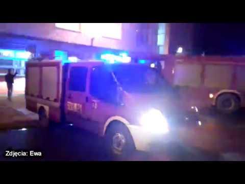 OSP Nałęczów wita swój nowy ciężki wóz ratowniczo-gaśniczy. Scania GCBA przyjechała do Nałęczowa r.…