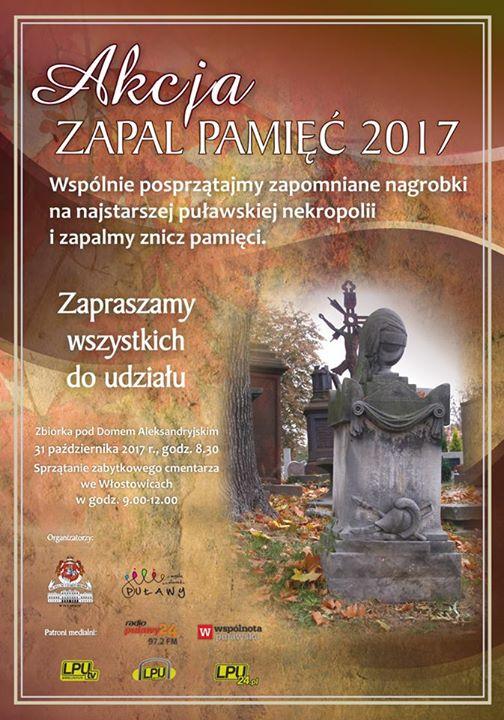 """9 października ruszyła kolejna edycja akcji """"Zapal pamięć"""""""
