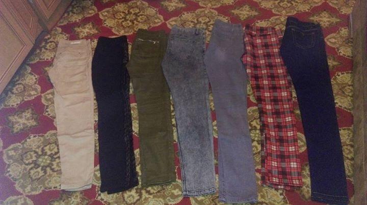 Spodnie stan bdb 5zł – Puławy Witaj fajne spodnie w stanie bdb jak nowe…