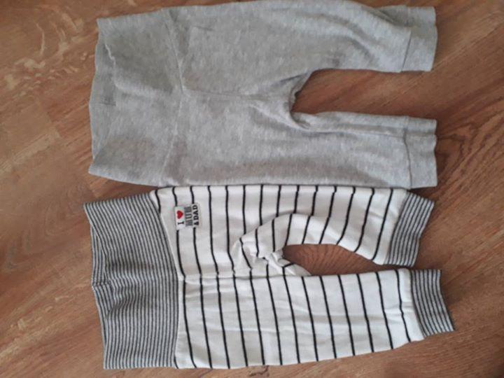Spodnie h&m 10zł – Puławy Rozmiar 62, cena za 2 sztuki Odbiór Puławy