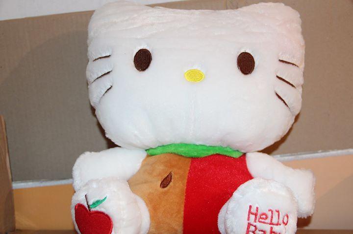 hello kitty maskotka, nieużywana, 41 cm wysokosć.odbiór Puławy 40zł – Puławy