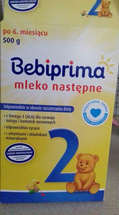 Mleko następne Bebiprima (po 6 miesiącu ) FREE – Puławy Oddam potrzebującej mamie mleko…