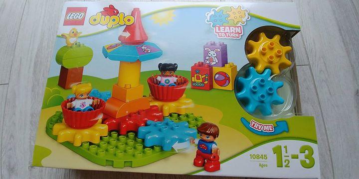 Karuzelka Lego Duplo 82zł – Puławy Sprzedam Moja pierwsza karuzela z Lego Duplo dla…