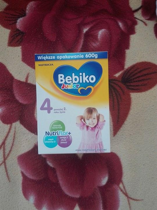 Mleko bebiko 4 15zł – Skowieszyn Sprzedam nowe mleko bebiko junior 4, 600 gram,…