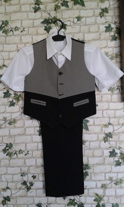 Kamizelka, spodnie 25zł – Puławy Kamizelka i spodnie. Rozmiar134