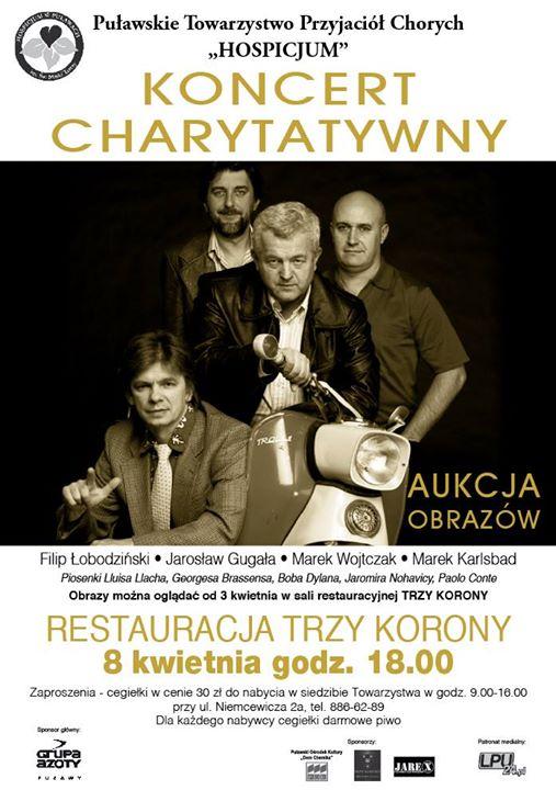 Hospicjum im. św. Matki Teresy w Puławach zaprasza 8 kwietnia na koncert charytatywny. Dla…