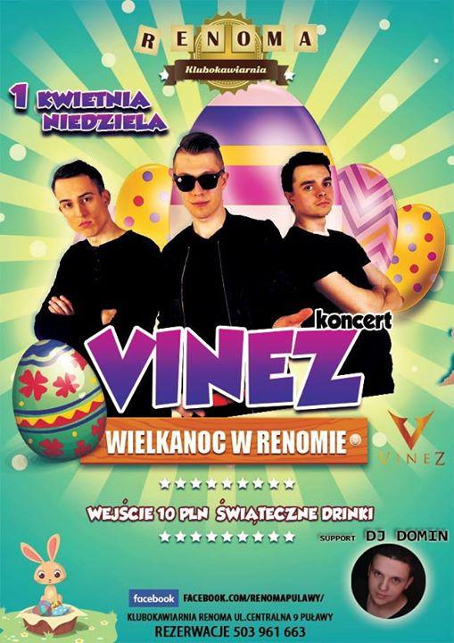 Maciej Gąska shared Zespół Vinez's post to the group: Puławy