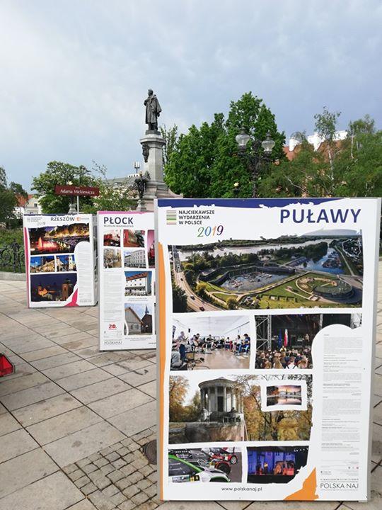 Pamiętacie zeszłoroczny projekt POLSKA NAJ w Warszawie? W tym roku również jesteśmy na Krakowskim…