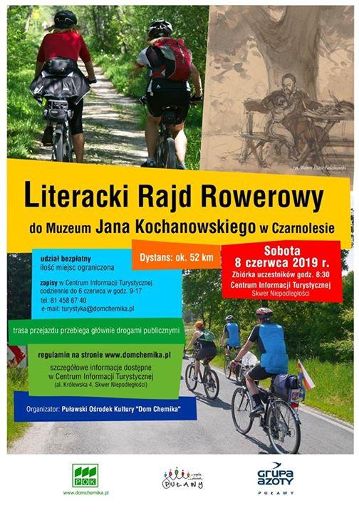 ℹ️ Centrum Informacji Turystycznej w Puławach zaprasza na drugą tegoroczną wycieczkę rowerową. ️️Na sobotę…