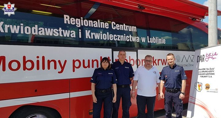 Policjanci z Komendy Powiatowej Policji w Puławach na co dzień niosą pomoc mieszkańcom naszego…
