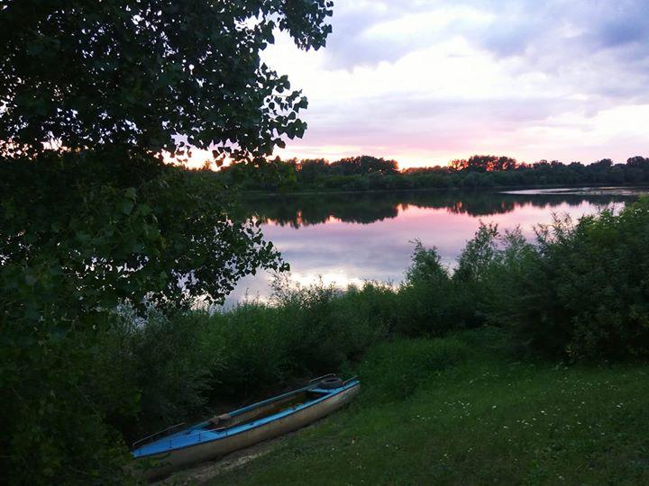 Już prawie weekend tymczasem cieszmy się pięknym zachodem słońca nad Wisłą
